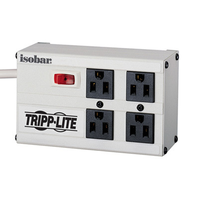 Isobar 4 220 Strip 4 Outlet