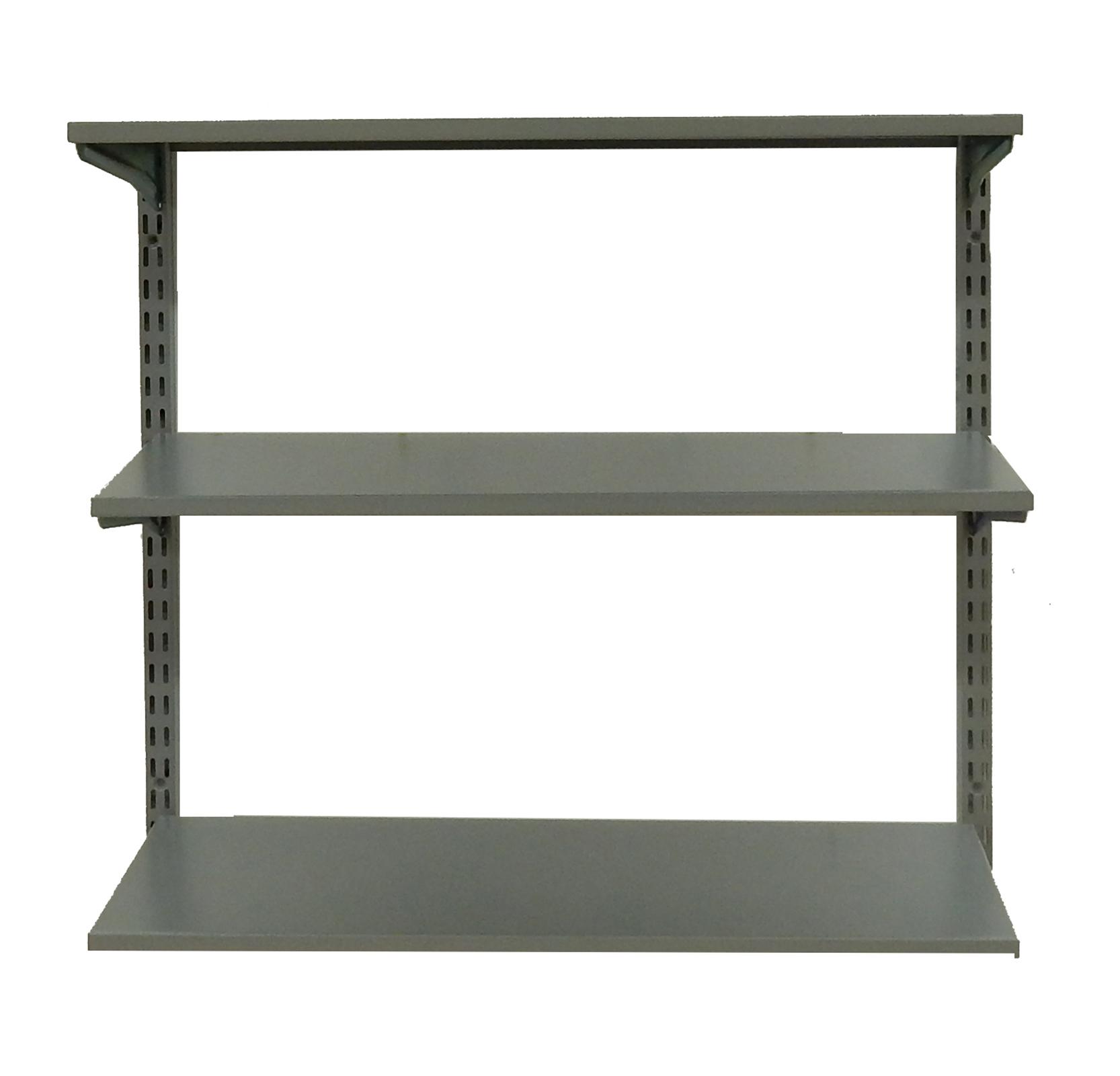 33 In. W x 31.5 In. H Steel Shelf Wall Mount Unit