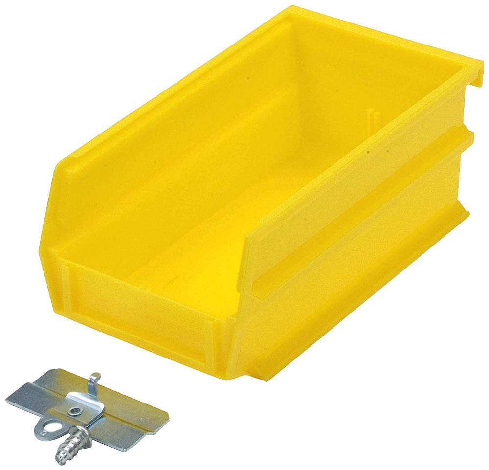 "BinKit 7 3/8""L x 4 1/8""W x 3""H Yellow, 24-Pack"
