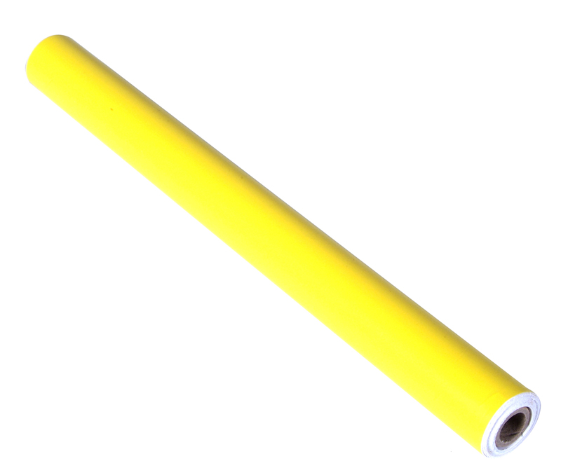 "12"" x 60"" Shadow Board Yellow Vinyl Self-Adhesive Tape Roll to Silhouette and Manage Tools and Equipment"