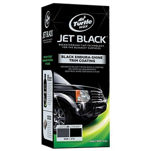 * JET BLACK TRIM COATING