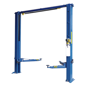 Two Post Lift, 11000 lb Capacity, Clear Floor, Direct Drive