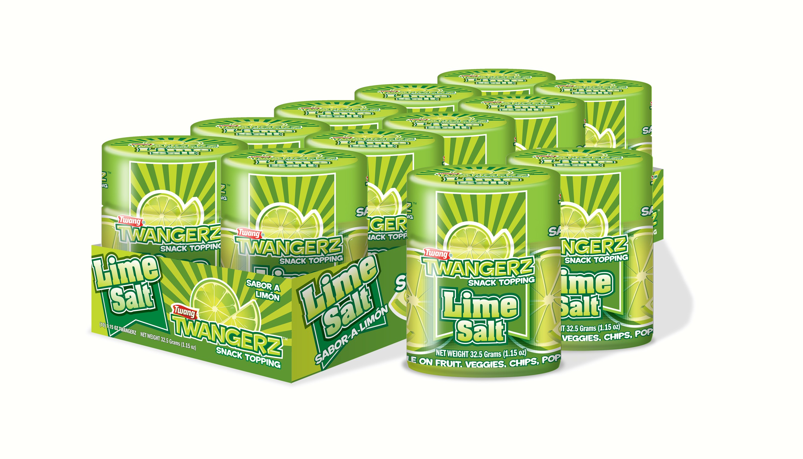Lime Shaker Tray (Tray Comes with 10 Lime Salt Shakers)