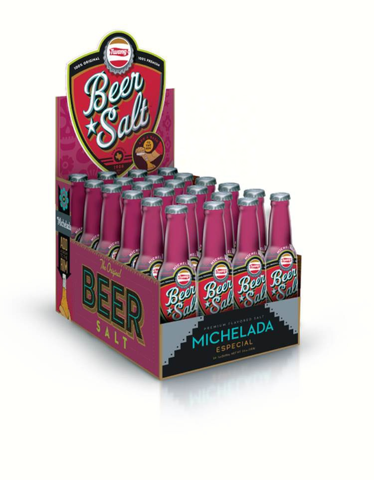 Michelada Long Neck Counter Display (Beer Salts)
