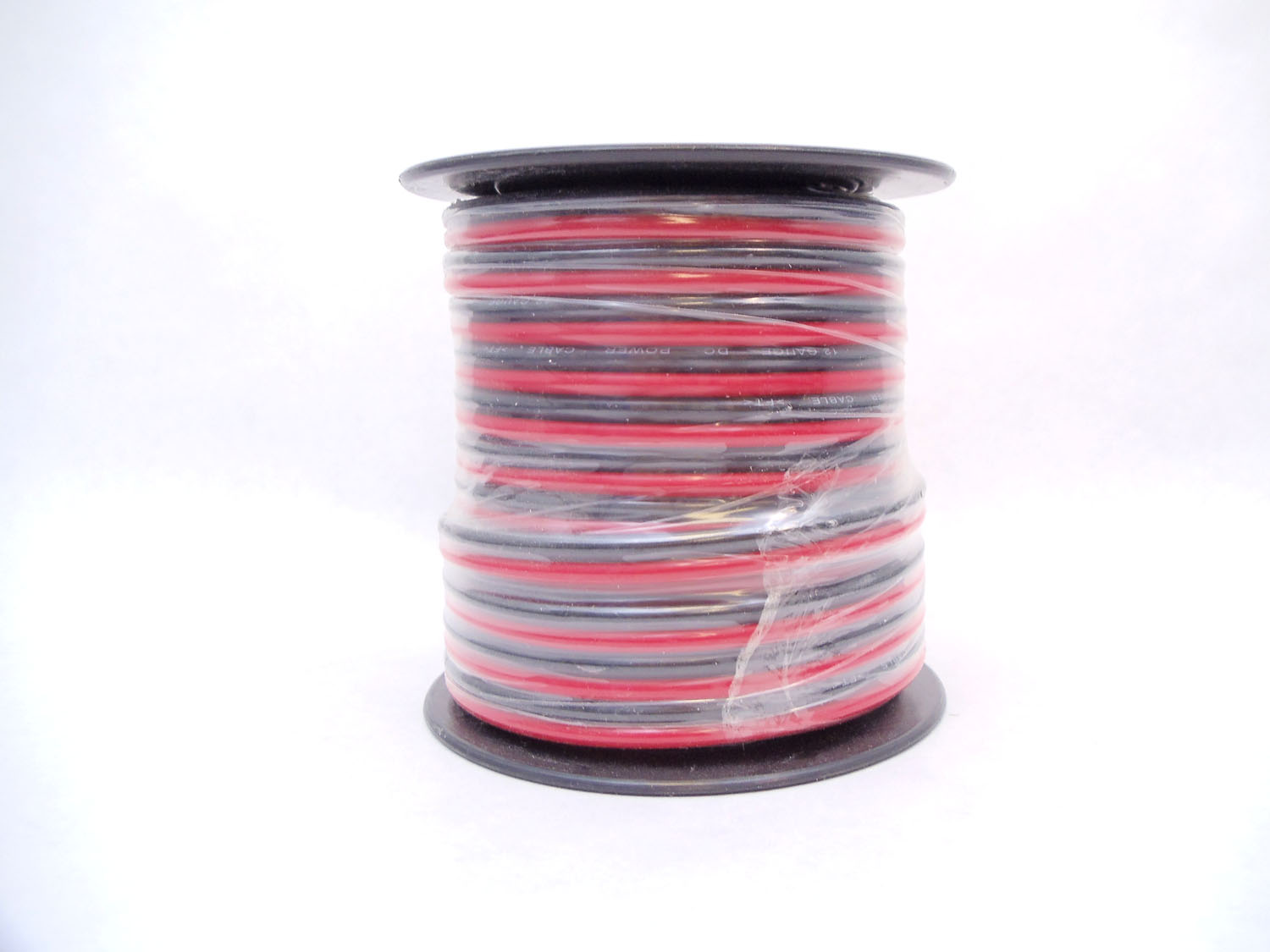 12 GAUGE ZIP WIRE (RED/BLACK) 50 FT SPOOL
