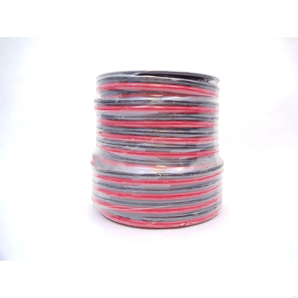 10 GAUGE ZIP WIRE (RED/BLACK) 100 FT SPOOL