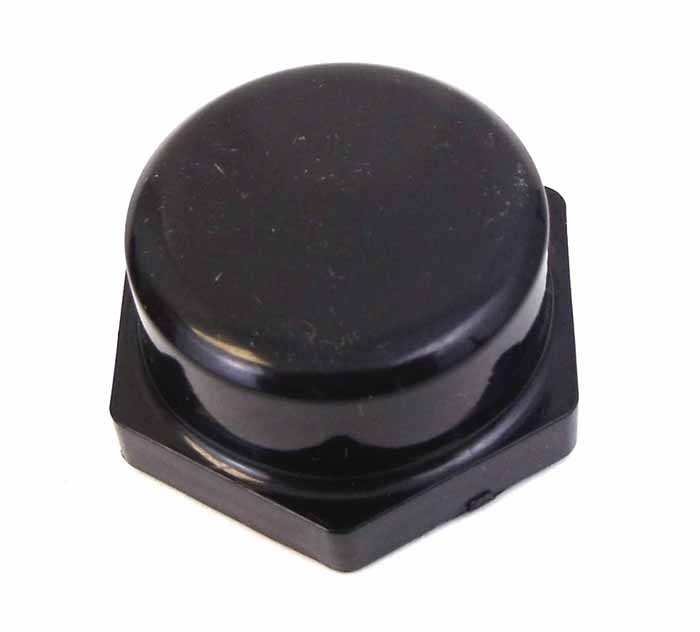 BLACK RAIN CAP FOR NMO TYPE MOUNTS