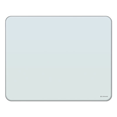 Cubicle Glass Dry Erase Board, 20 x 16, White