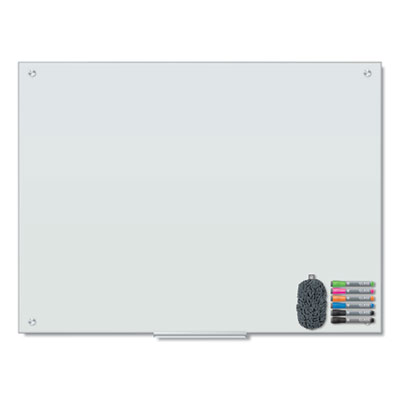 Magnetic Glass Dry Erase Board Value Pack, 48 x 36, White