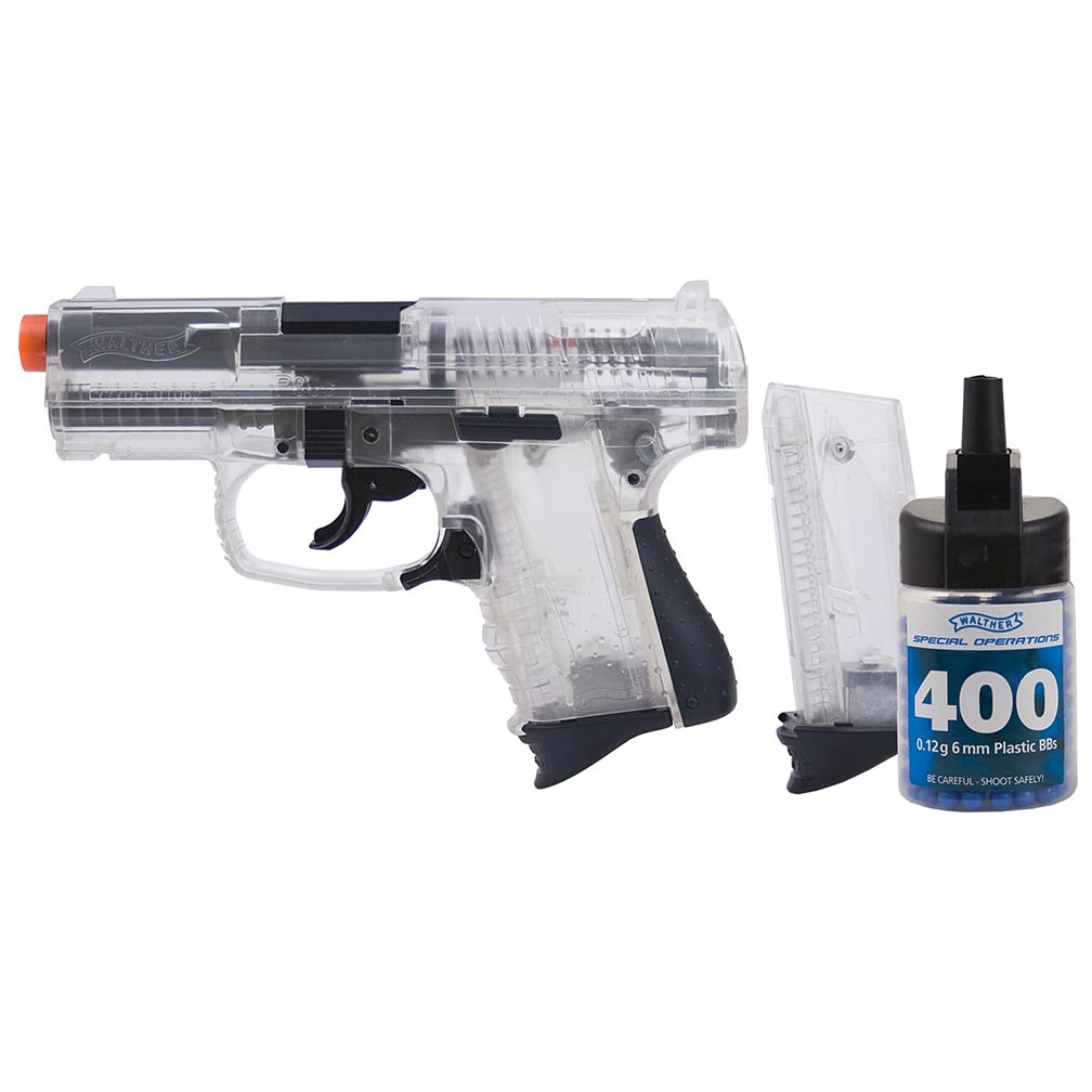 Umarex Walther P99 Spring Airsoft Pistol Kit G�� Clear