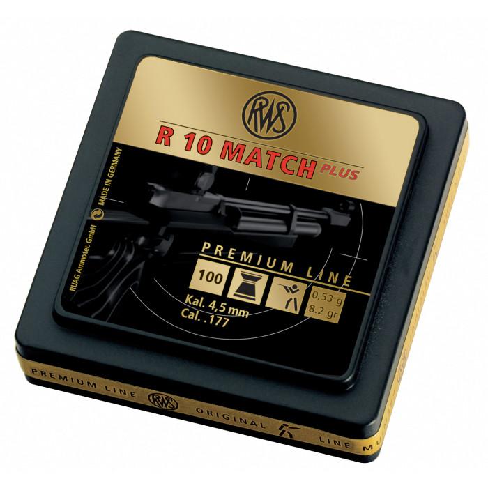 Umarex R10 Match + Premium Line .177 8.2 G Pellets (500 Ct)