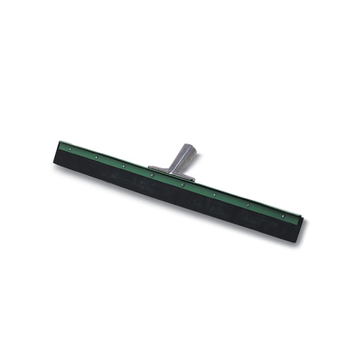 Aquadozer Heavy Duty Floor Squeegee, 18 Inch Blade, Green/Black Rubber, Straight