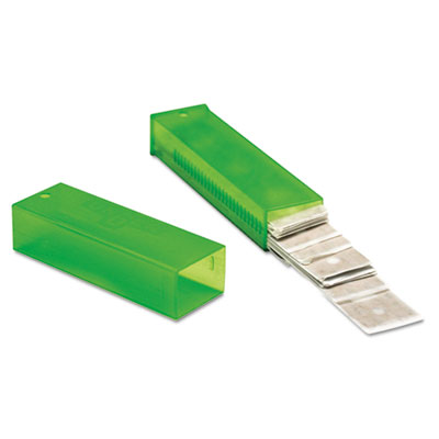 "ErgoTec Glass Scraper Replacement Blades, 4"" Double-Edge, 25/Pack"