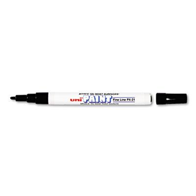 Permanent Marker, Fine Bullet Tip, Black