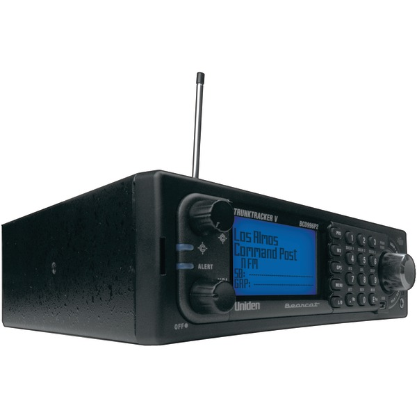 UNIDEN BCD996P2 TrunkTracker V Digital Mobile Scanner