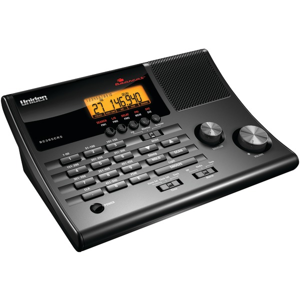 Uniden BC365CRS Alarm Clock 500-Channel Radio Scanner with Weather Alert