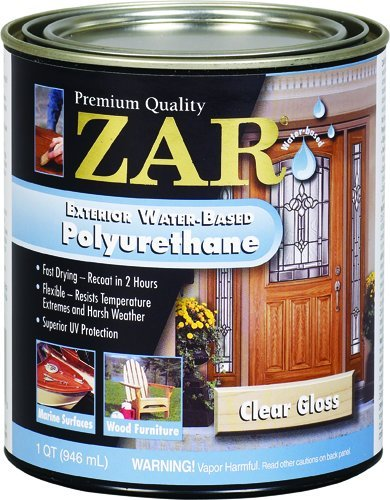 32612 Quart Gloss Exterior Water Based Poly