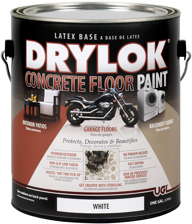 21213 1 Gallon White Drylok Floor Paint