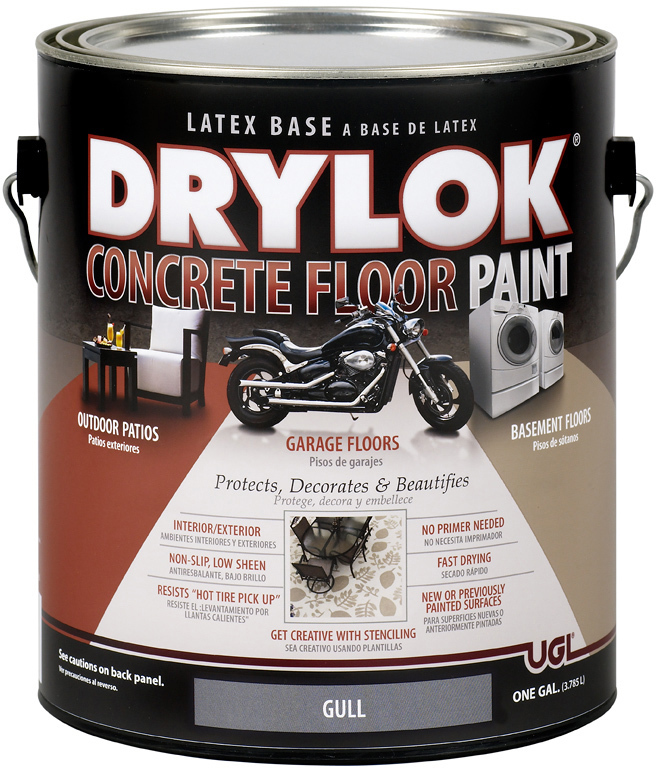 21313 1 GALLON GULL DRYLOK FLOOR PAINT