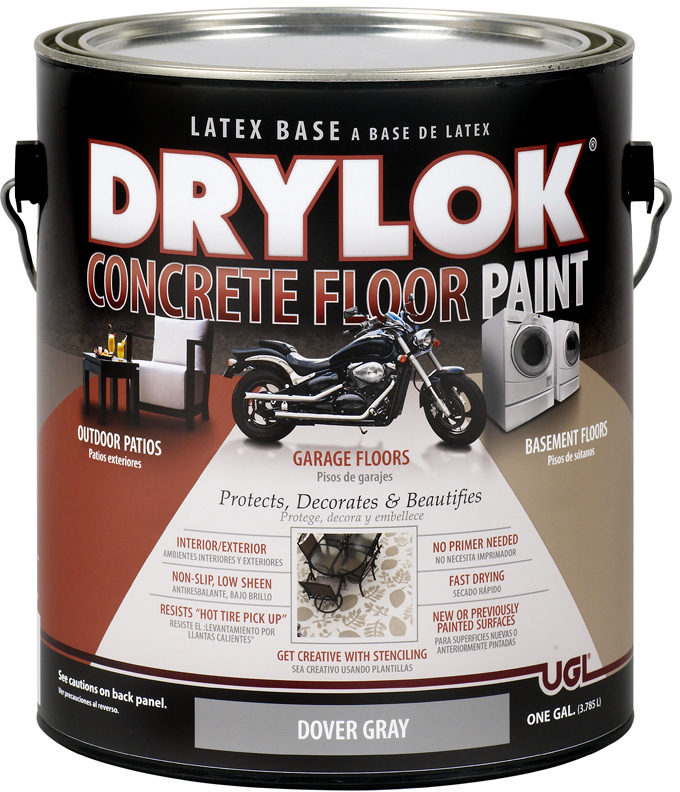 21413 1 Gallon Gray Drylok Floor Paint