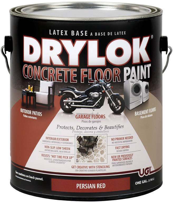 21513 1 Gallon Red Drylok Floor Paint