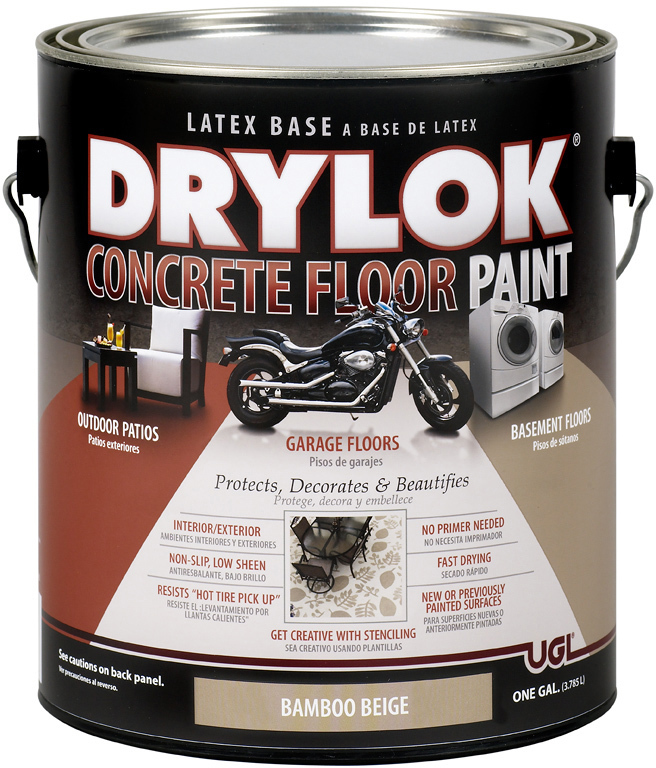 21613 1 Gallon Beige Drylok Floor Paint