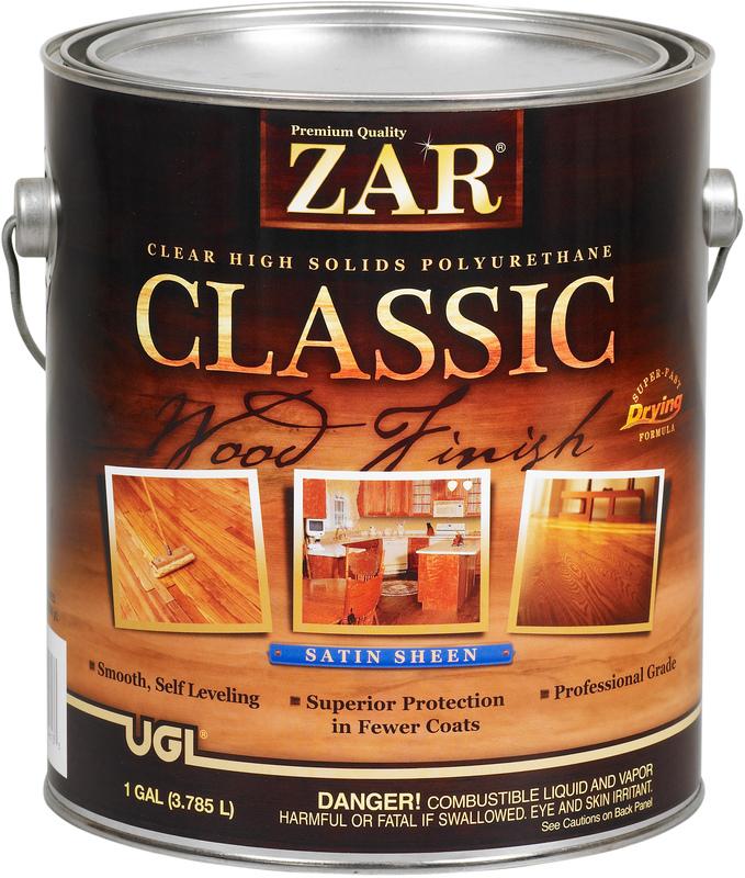 1 Gallon Satin Classic Polyurethane