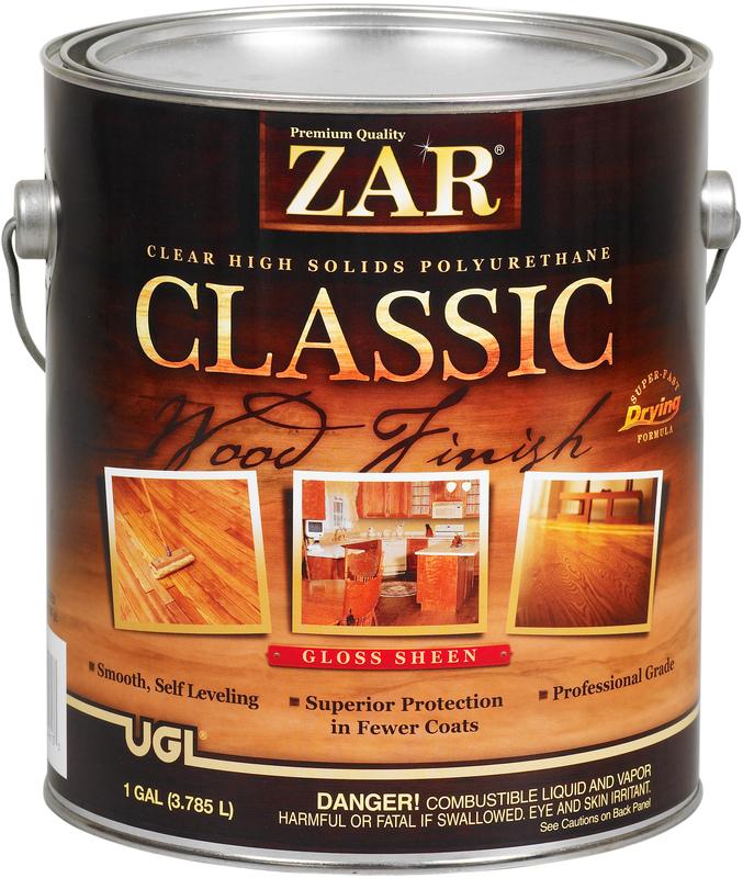 1 Gallon Gloss Classic Polyurethane