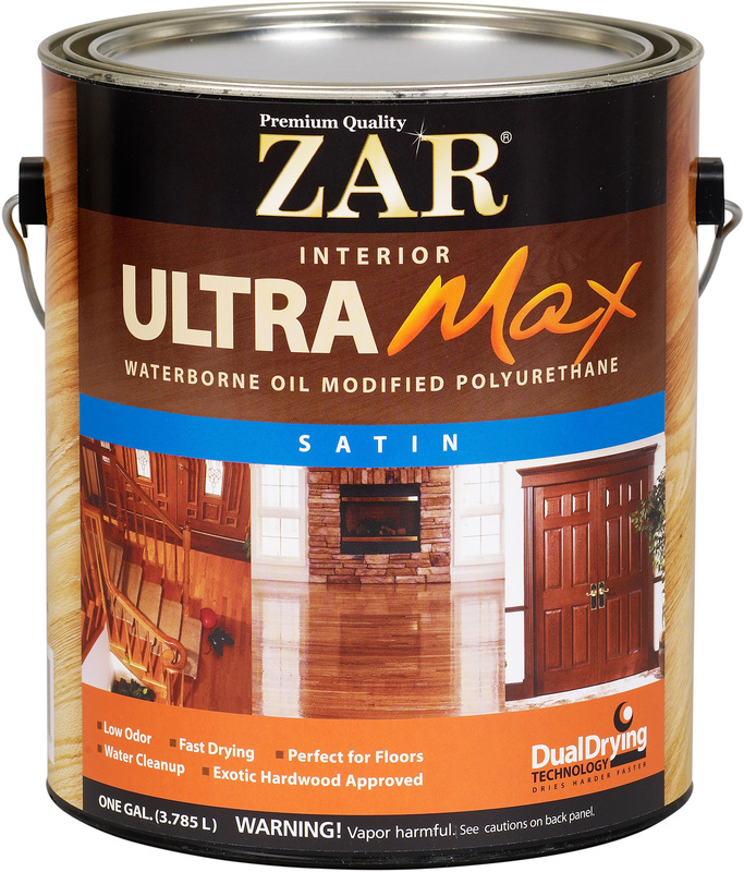1 Gallon Ul Interior Satin Water Polyurethane