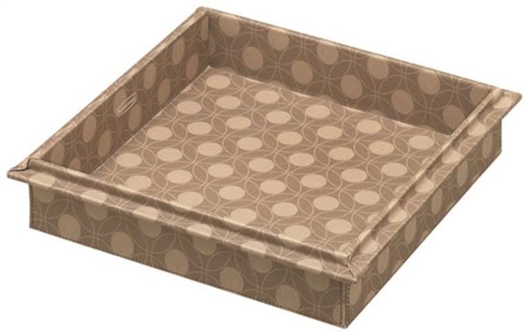 Rubbermaid 1789306 Large Storage Box Lid, Brown