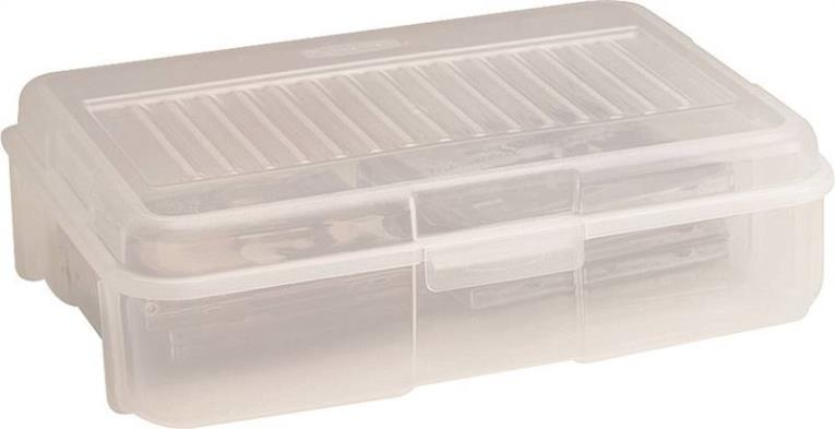 CASE STORAGE SNAP CLEAR 18GAL