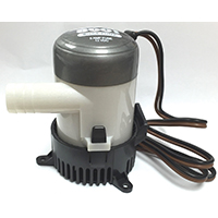 United States Hardware M-019B Bilge Pump, 625 gph, 12 V, 3/4 in Head