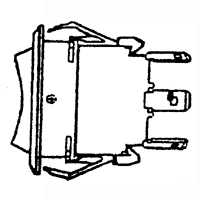 BILGE PUMP SWITCH MARINE 3-WAY
