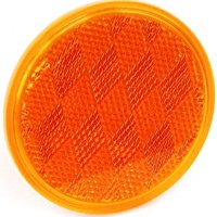 REFLECTOR AMBER 3IN