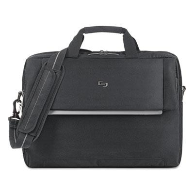 "Urban Briefcase, 17.3"", 16 1/2 x 3 x 11, Black"