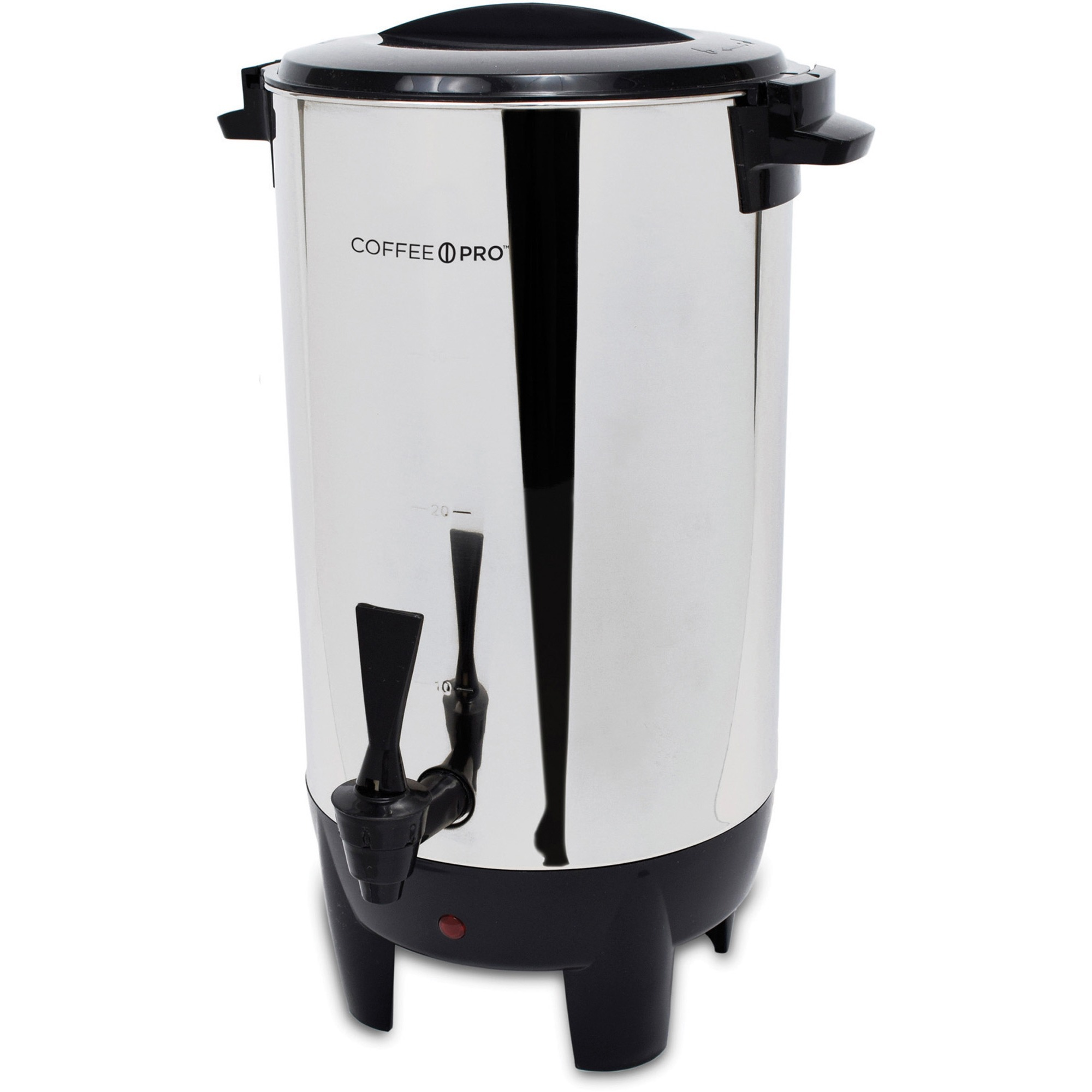 30-Cup Percolating Urn, Stainless Steel