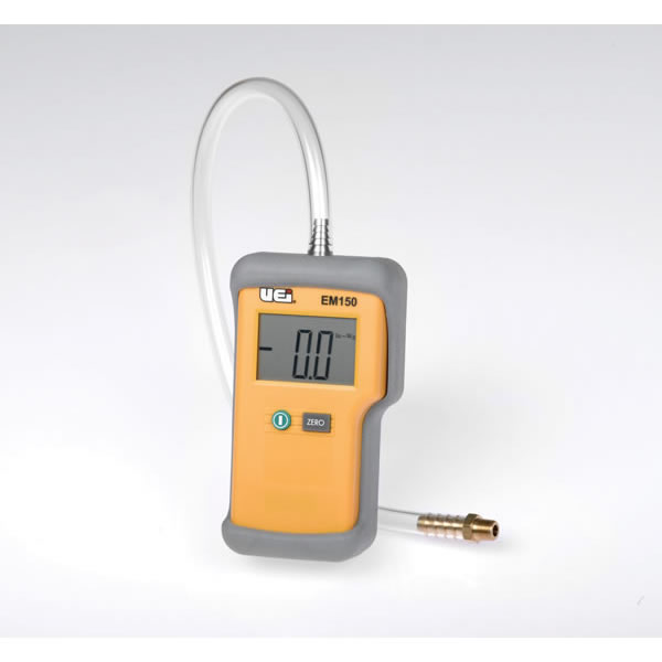 Electric Manometer, Measures Positive & Negative Pressure For Propane Or Natural Gas