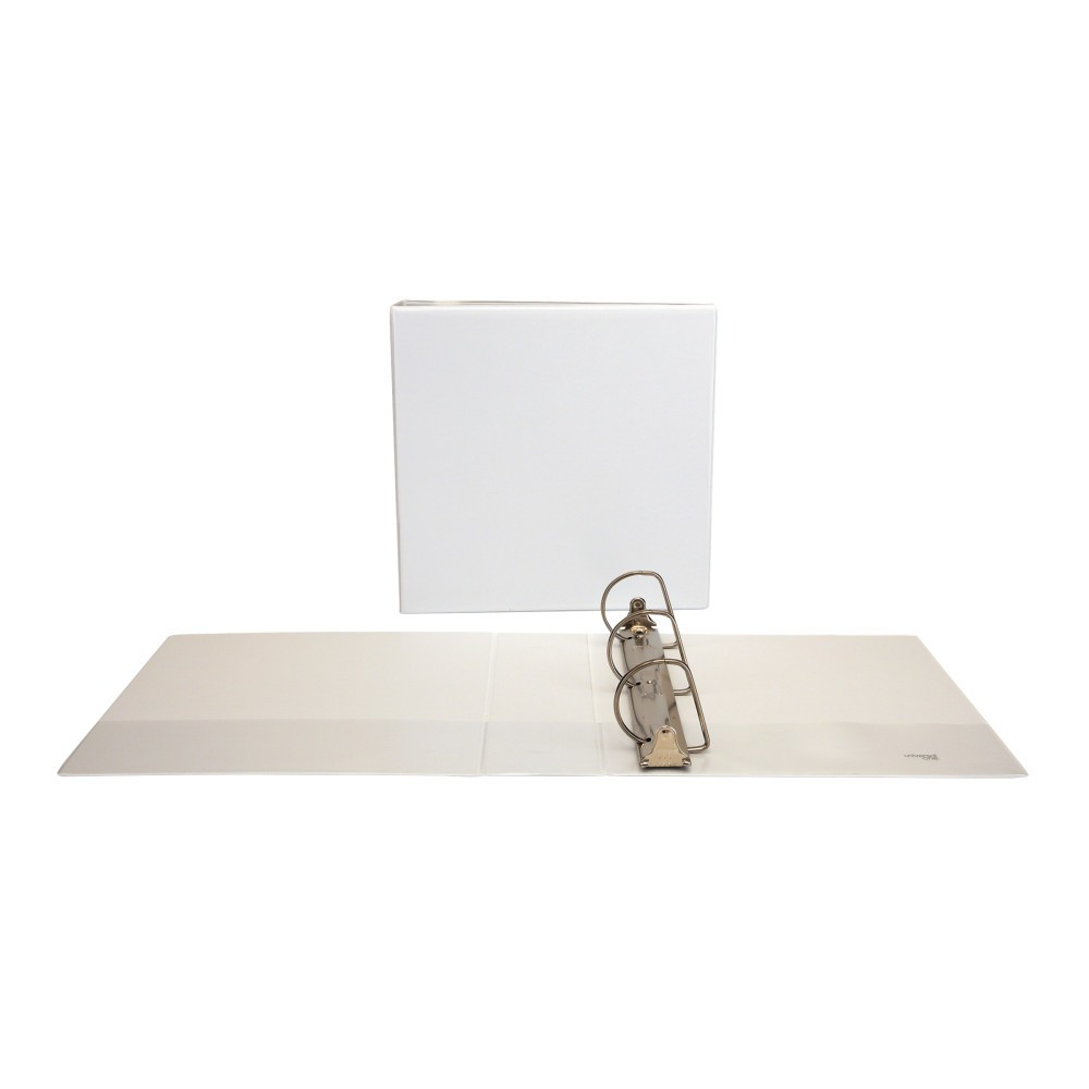 "Slant-Ring Economy View Binder, 3"" Capacity, White"