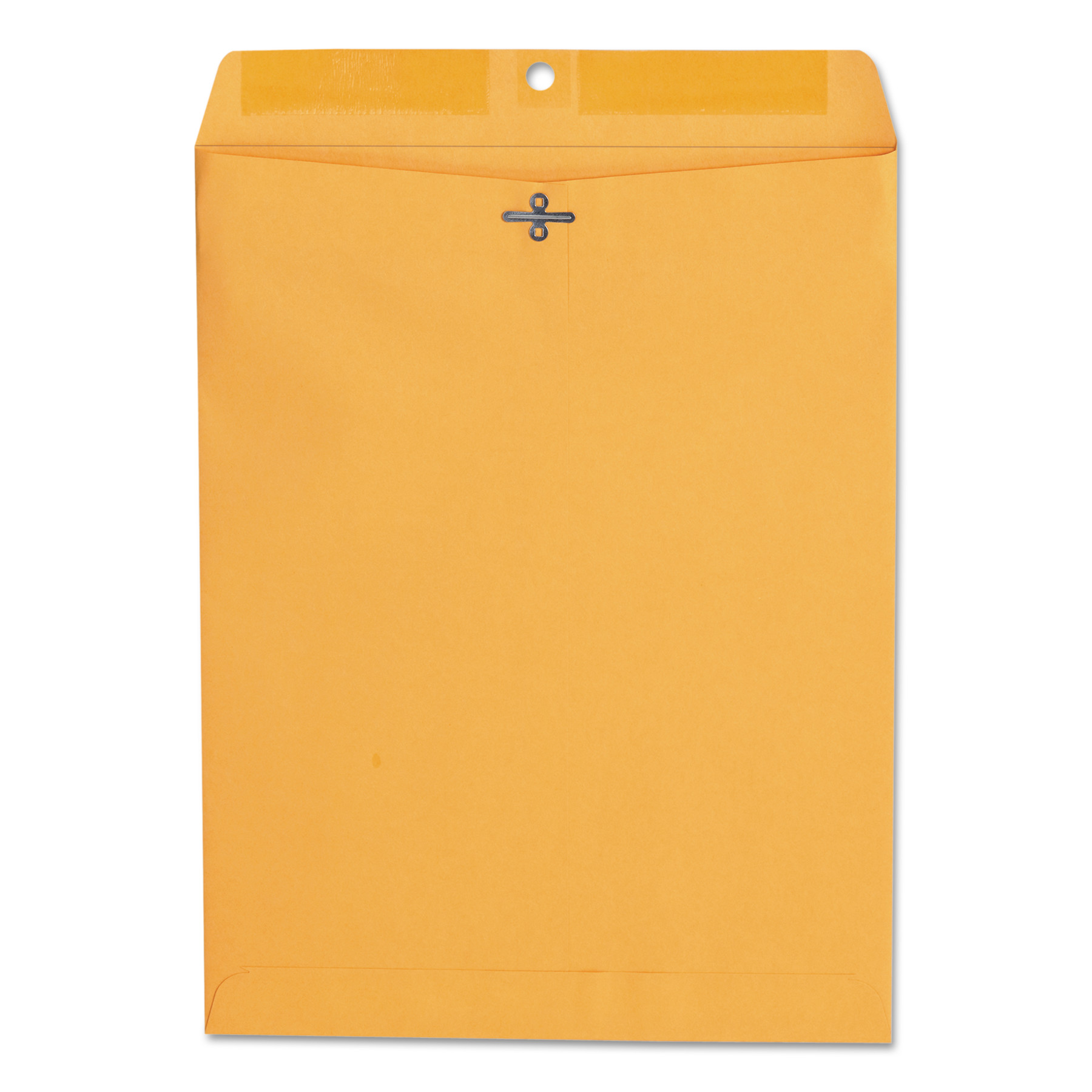 Kraft Clasp Envelope, Center Seam, 28lb, 10 x 13, Brown Kraft, 100/Box