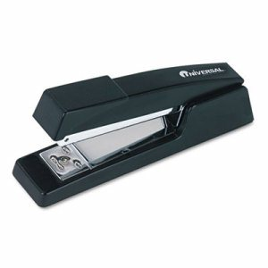 "Classic Full-Strip Stapler, 15-Sheet Capacity, 3 1/2"" Throat, Black"