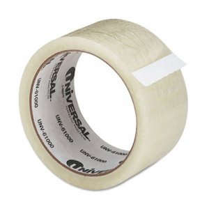 "General Purpose Box Sealing Tape, 48mm x 50m, 3"" Core, Clear"