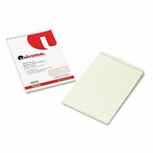 Steno Book, Gregg Rule, 6 x 9, Green, 60 Sheets