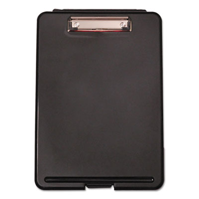 "Storage Clipboard, 1/2"" Capacity, 8 1/2 x 11, 1 Compartment, Black"