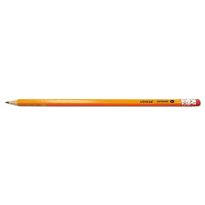 #2 Pre-Sharpened Woodcase Pencil, HB #2, Yellow Barrel, 72/Pack