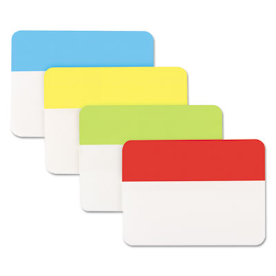 "Self Stick Index Tab, 2"", Assorted Colors, 40/Pack"