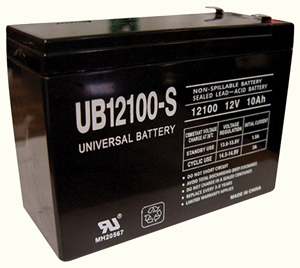 UPG 85968/D5719 Sealed Lead Acid Battery (12V; 10Ah; UB12100S)