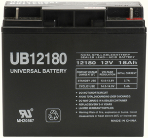 UPG 85977/D5745 Sealed Lead Acid Battery (12V; 18Ah; UB12180)