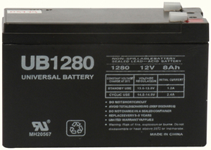 UPG 85989/D5779 Sealed Lead Acid Battery (12V; 8Ah; .250 Tab Terminals; UB1280F2)
