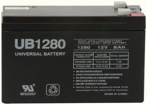 UPG 85989/D5779 Sealed Lead Acid Battery (12V; 8Ah; .250 Tab Terminals; UB1280F2)