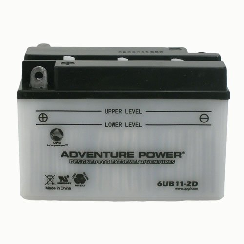 UPG 41531 6UB11-2D, CONVENTIONAL POWER SPORTS BATTERY